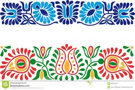 folk ornaments stock vector image 66875264