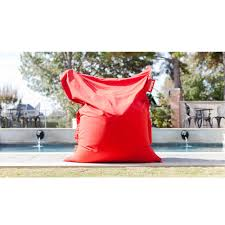 outdoor easy to clean sunbrella fabric lounge bean bag chair by fatboy