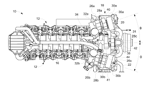 10000 square foot house plans patent us20140182285 charge air cooler cover and turbocharger