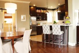 kitchen island with bar stools cool bar stools kitchen contemporary with metallic recessed