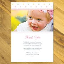 Christening Invitation Card Maker Personalised Christening Naming Day Baptism Thank You Cards