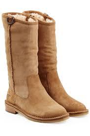 ugg jasper sale ugg sheepskin boots in brown lyst