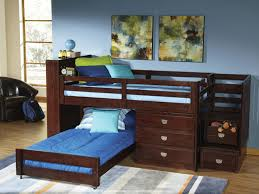 Loft Bunk Beds Low Loft Bunk Bed For Children Thedigitalhandshake Furniture