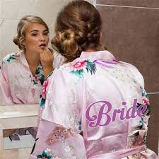 wedding dressing gowns and bridesmaid dressing gowns ireland junoir bridesmaid