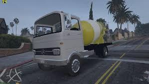 mercedes truck 2016 1968 mercedes benz lp608 truck mixer gta5 mods com