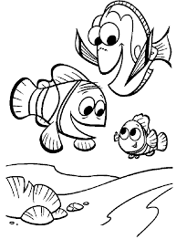 finding nemo pearl coloring pages for kids dje printable