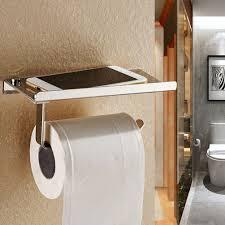 toilet paper roller solid chrome bathroom toilet paper holder roller wall tissue rack