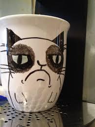 cute grumpy cat mug u2014 great home decor