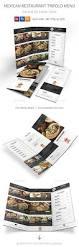 mexican restaurant trifold menu menu templates ai illustrator
