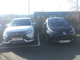 renault zoe electric mitsubishi outlander phev u0026 renault zoe electric cars at pip hq