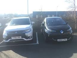 renault zoe electric mitsubishi outlander phev u0026 renault zoe electric cars at pip hq