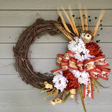 Wreath For Front Door Fall Wreath Autumn Wreath Fall Wreath For Front Door Fall