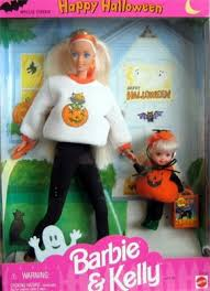 happy halloween barbie and kelly gift set 17238