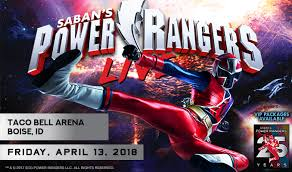 power rangers live taco bell arena