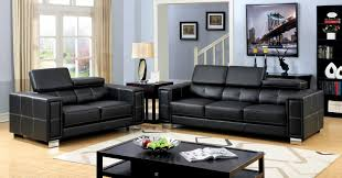 Sears Living Room Furniture Sets Black Leather Sofa Sears Furniture Of America Arken Bonded