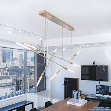 sorenthia quad modern chandelier custom made by studio dunn