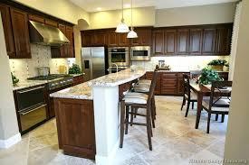 Walnut Kitchen Designs Small Wood Cabinet Traditional Wood Walnut Kitchen