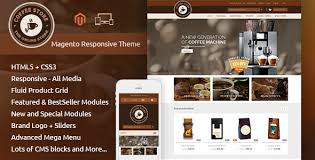 coffee magento responsive theme by templatemela themeforest
