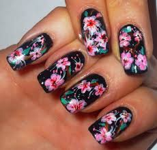 nail art japanese cherry blossom nail art design youtube