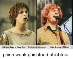 Phish Memes - michael cera in year one to com mike gordon of phish phish wook