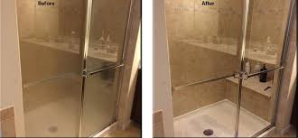 how to keep your glass shower doors clean