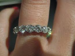 eternity ring finger show me your diamond eternity bands finger and