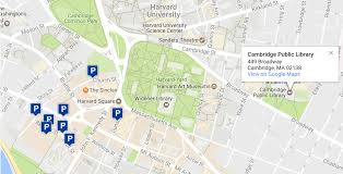 Map Of Cambridge Ma Attending