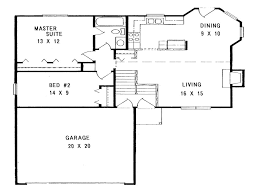 100 simple one story house plans floor plans simple small