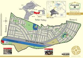 Sec Map Bahria Town Islamabad Phase 8 Sector F Islamabad Property Maps