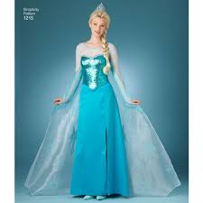 frozen costumes pattern for misses frozen costumes simplicity