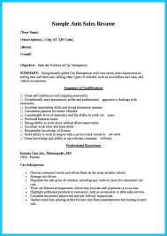 Trade Resume Examples Salesman Resume Examples