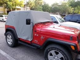 Jeep Wrangler Waterproof Interior Bestop Wrangler All Weather Trail Cover W Stuff Sack 81037 09 97