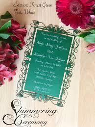 Wedding Invite Spreadsheet Elvish Wedding Invitation Laser Cut Elf Inspired Lord Of The Rings