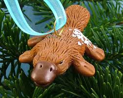 platypus ornament etsy