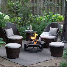 Fire Pit And Chair Set Fire Pit Table And Chairs Set Karimbilal Net