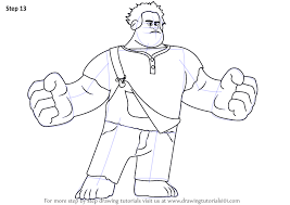 learn draw wreck ralph wreck ralph step step