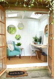 Backyard Cottage Ideas by 25 Best Shed Office Ideas On Pinterest Backyard Office