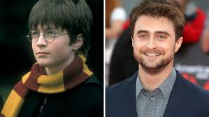 Harry Potter Harry Potter Then And Now Daniel Radcliffe Watson