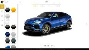 suv lamborghini interior the lamborghini urus configurator is a righteous time sink the drive