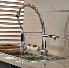 Spring Pull Down Kitchen Faucet Aliexpress Com Buy Luxury Spring Pull Down Kitchen Sink Mixer