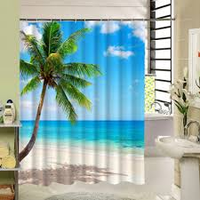 Amazon Shower Curtains Curtain Amazon Bathroom Accessories With A Beach Scene Pictures