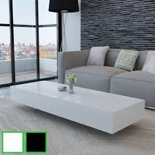 Home Furniture Tables New Coffee Table Modern Furniture Side Table Mdf High Gloss White