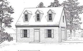 colonial garage plans sized colonial style 1 car garage with attic plan 432 1 18 x