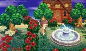 acnl shrubs chimeriacrossing the hibiscus bushes bloomed today ac nl town