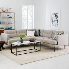Living Room  Wonderful Modular Sofa Design With Grey Fabric - Fabric sofa designs