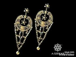 bengali gold earrings gold earrings traditional bengali earrings mp4