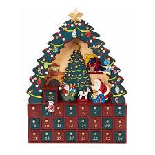 lighted santa s workshop advent calendar kids advent calendar ideas the heathered nest
