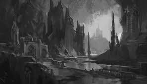 visual development for animation demo fantasy architecture