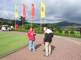 Sparkasse Bad Hersfeld Golfanlage Oberaula August 2006