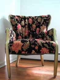 Diy Armchair Channel Back Chair Re Upholstered Diy And Other Cuteness